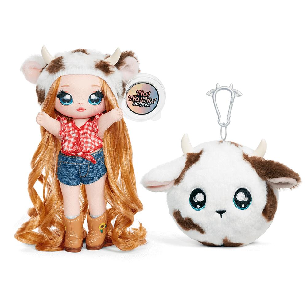 Кукла LOL Surprise Na! Na! Na! 3 серия Annabelle Moooshe (девочка коровка) - 3